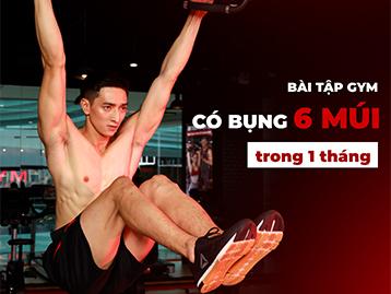 Các bài tập gym giảm mỡ bụng nam hiệu quả nhất không nên bỏ qua