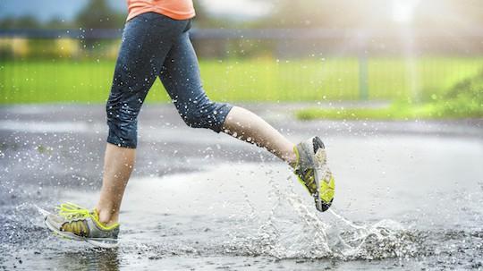Đừng biến mùa mưa thành trở ngại duy trì vóc dáng