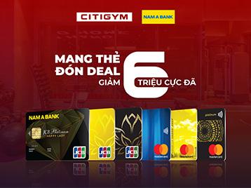 Mở thẻ Nam Á Bank, mở lối trải nghiệm tập luyện đẳng cấp!