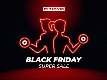 Sale khủng Black Friday - Săn deal tập luyện tại CITIGYM